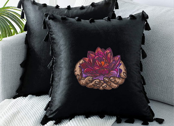 Embroidered in your Hands Cushions Cover