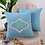 Thumbnail: Cushion Cover Initials Machine Embroidered