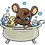 Thumbnail: Machine Embroider Mouse Shower