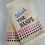 Thumbnail: Embroidered Hand Towel Wash your hands