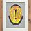 Thumbnail: Africa Art Machine Embroidery Mask
