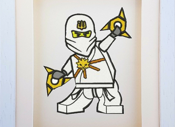 Zane Nijago Lego Machine Embroidery design