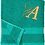 Thumbnail: Machine Embroidered Monogrammed Initialled Hand Towels