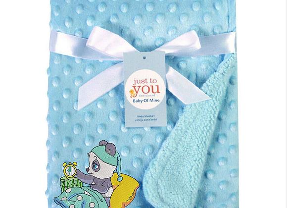 Panda Bedtime Machine Embroidered design