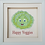 Thumbnail: 3D Picture Machine Embroidered -Happy Veggies
