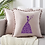 Thumbnail: Machine Embroidered Cushion Covers  butterfly lady