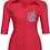 Thumbnail: Woman blouse Machine Embroidered -Branch of Flowers design.