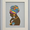 Thumbnail: Machine Embroidery Art African Woman