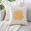 Thumbnail: Embroidered Cushion Cover Crown pattern