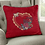 Thumbnail: Heart-framed Flowers Machine Embroidery design
