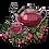 Thumbnail: Machine Embroidery Pattern of Fruit Tea