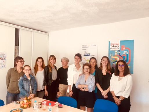 Petit-déjeuner de femmes créatrices avec Marlène Schiappa
