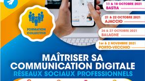 Formation : Maitriser sa communication digitale - Réseaux sociaux professionnels
