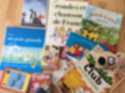 Bath French Spanish Tutor. Children's teaching books and material for French and Spanish