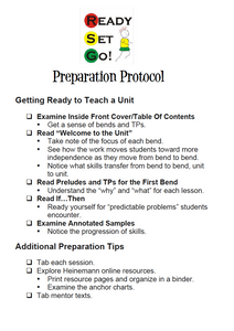 Preparation Protocol