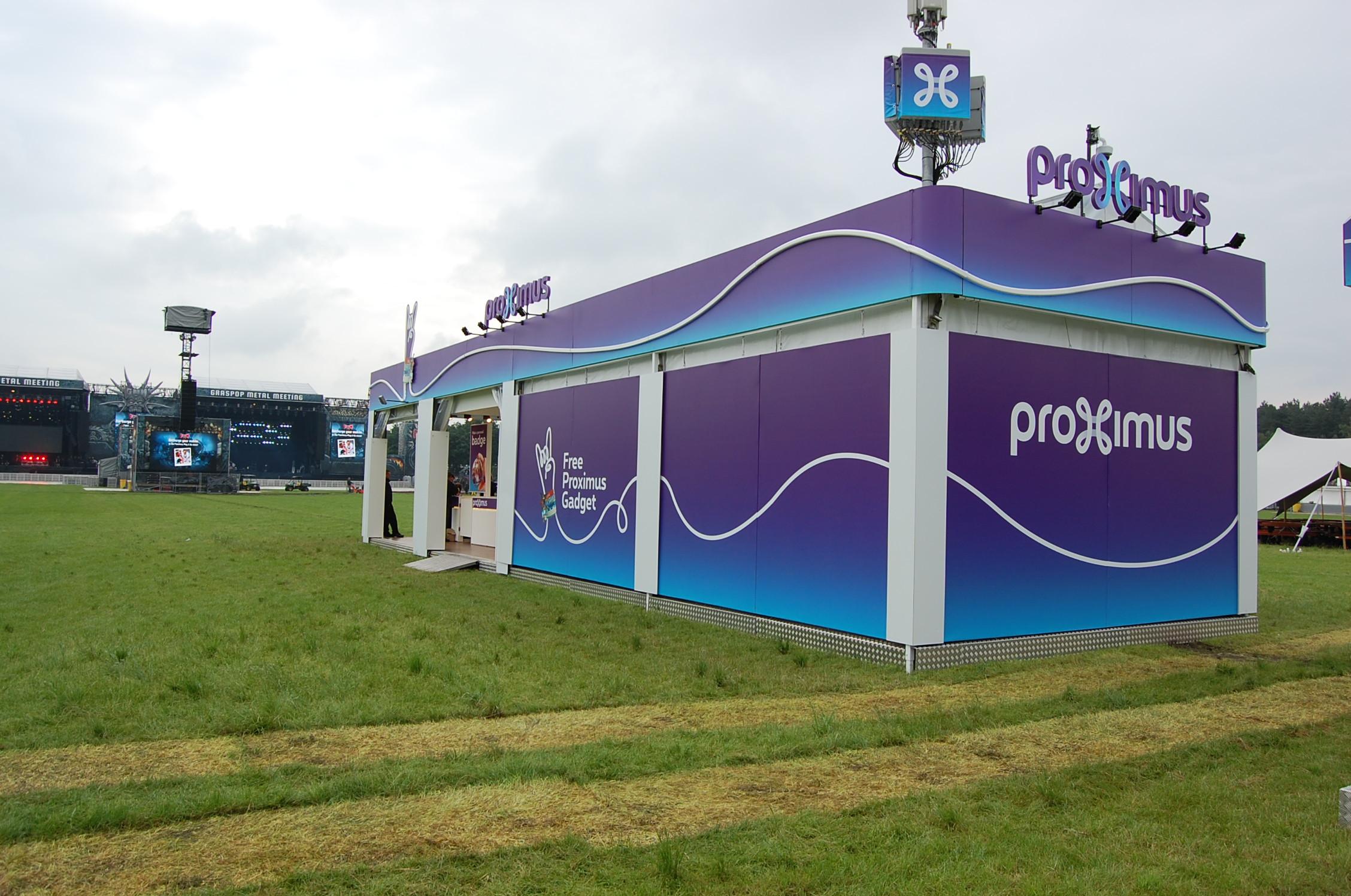 Festivalstand - Proximus
