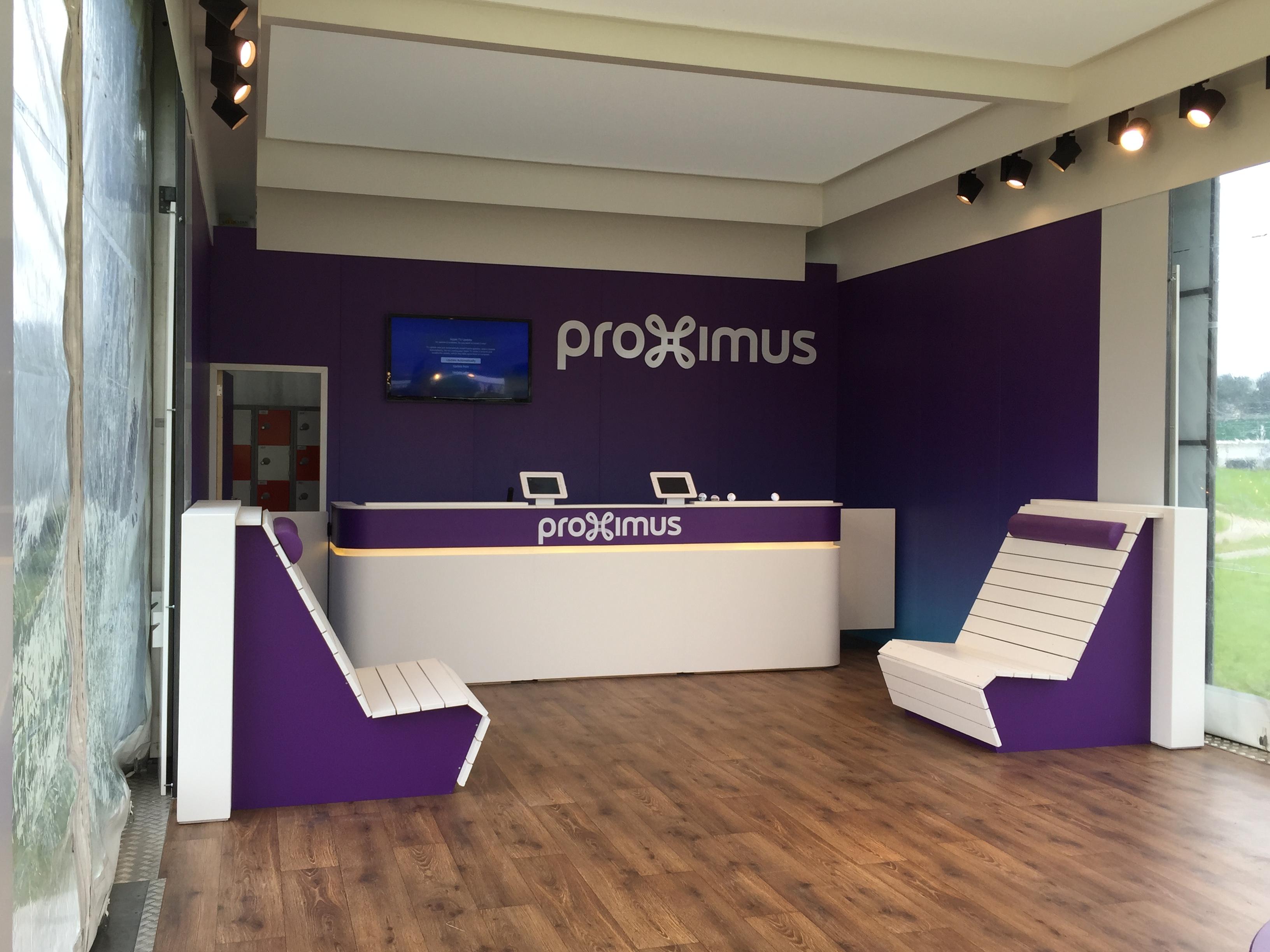 Festivalstand PROXIMUS