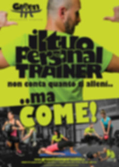 locandina PersPersonal Trainer GreenFit
