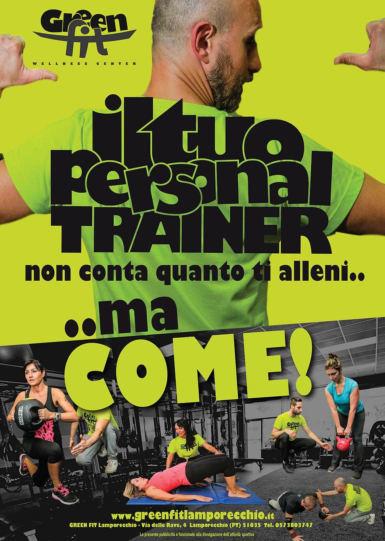 locandina PersPersonal Trainer GreenFit