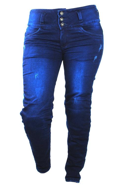 Blue Jeans jogger Denim Mujer