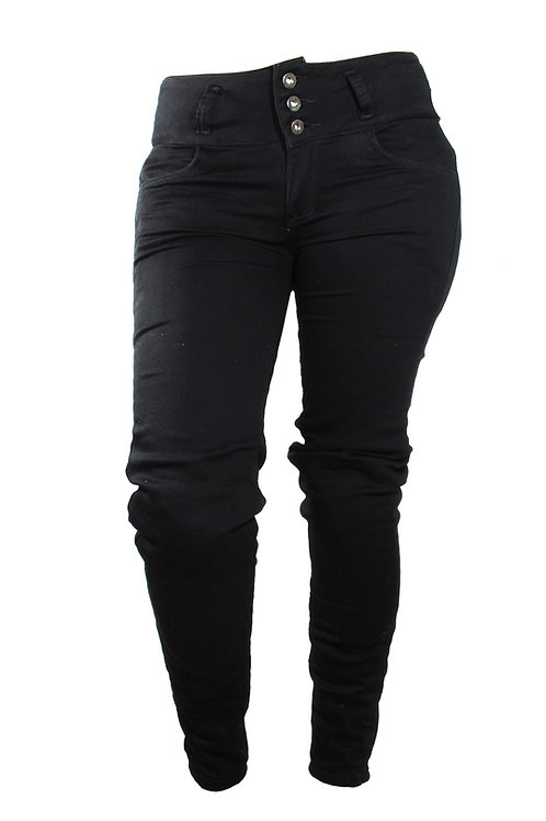Black jogger Denim Woman