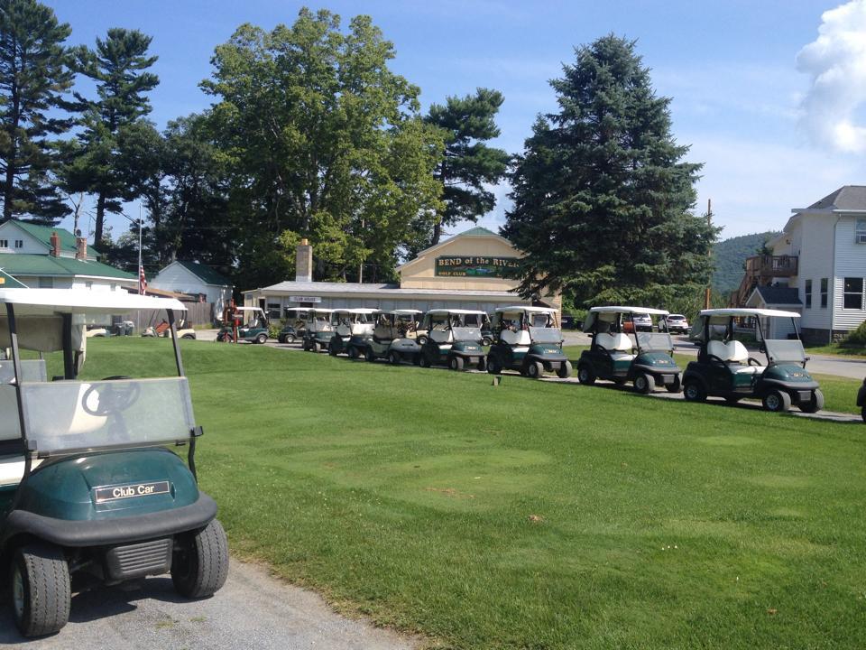 9 Hole Golf Cart Weekday Single