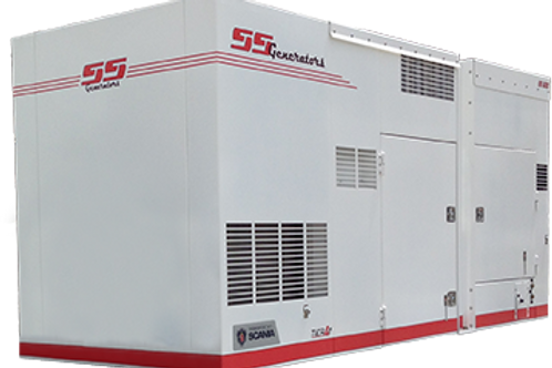 435kW SS Super Silent Generator with Scania Engine