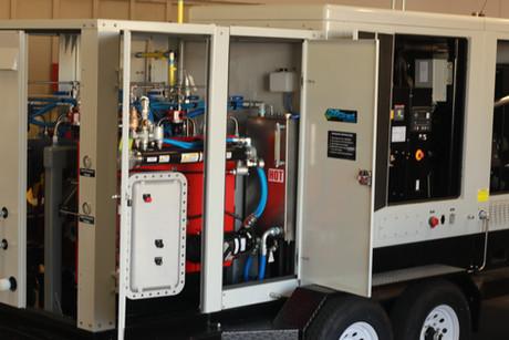 Mobile Regulator with Generator
