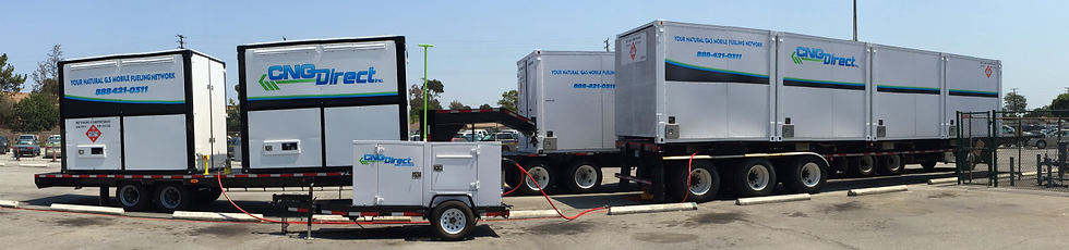 Short Term Natural Gas Supply via CNG Virtual Pipeline Delivery
