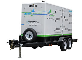 560KW Commercial Natural Gas Fueled Rental Generator