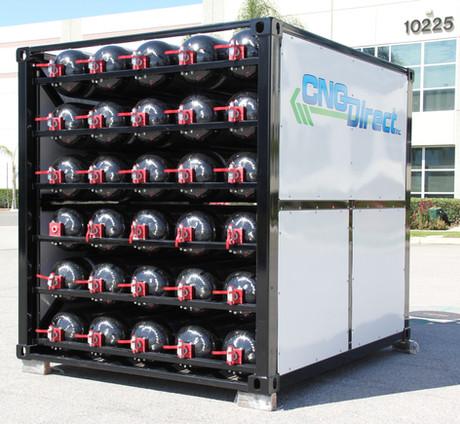 CNG storage pod