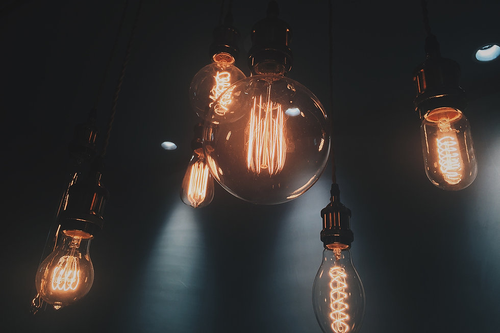 Lighting and Retro Lightbulbs