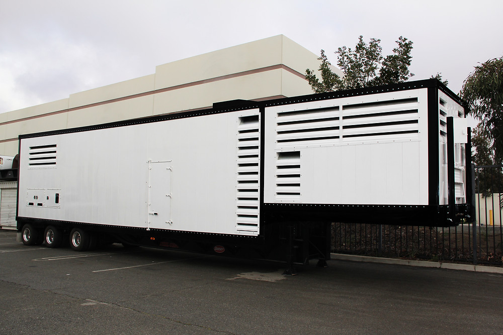Inhouse Production and Fabrication for Mobile Generator Solution