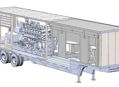 1.2 MW Natural Gas Fueled Generator Package