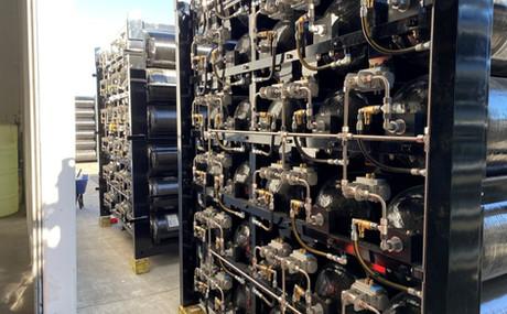 CNG tube storage trailers