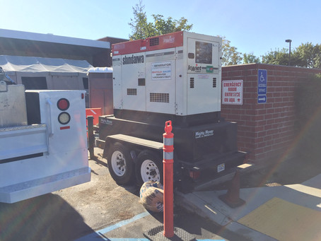 Healthcare Front Line Workers Emergency Generator Power