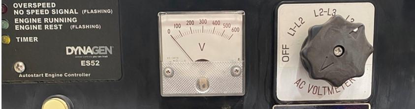 Volt Meter on Generator