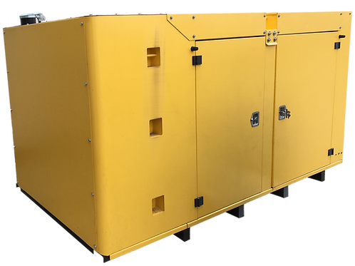 105kW Caterpillar Standby Generator with New Enclosure