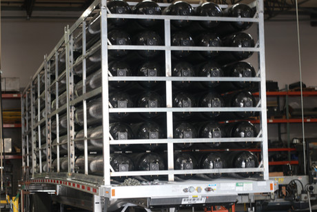 CNG Tube Trailer Manufacturing