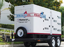 Bi-Fuel Generator Natural Gas and Diesel Fuel