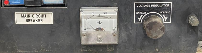 Hertz Meter on Generator