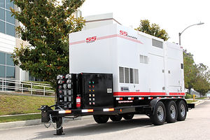 Diesel Powered Industrial Generator for Rent