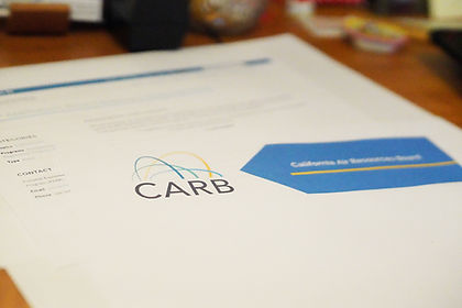 CARB Permitting Services