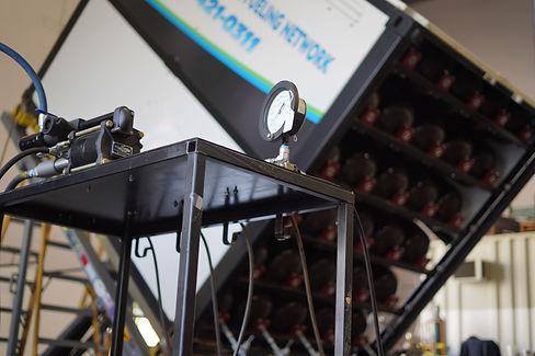 CNG cylinder recertification testing