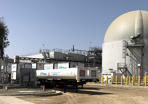 CNG Tube Trailers Transport RNG via Virtual Pipeline Solution