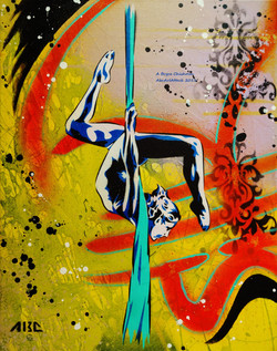 Silk 11x14in 2013