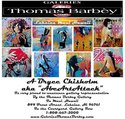 Thomas Barbey Gallery, Maui, Hawaii