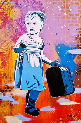 Traveler, 24x36in