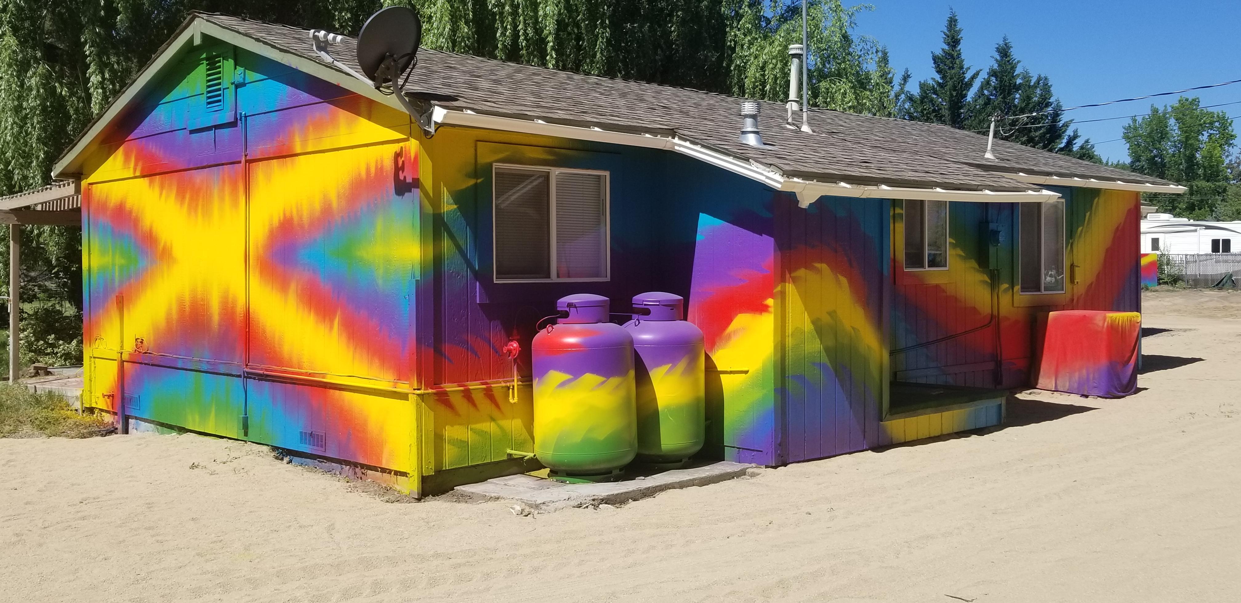 Stacie's Tie Dye House