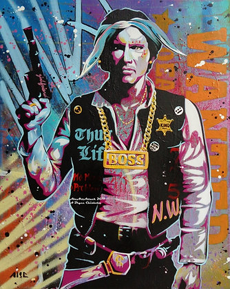 Han Galactic Rapper 11x14in print